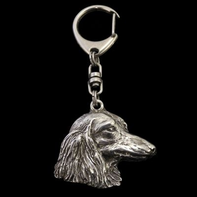 keychain keyring Dachshund long haired
